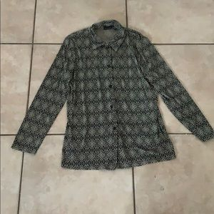 George blouse small (4-6)